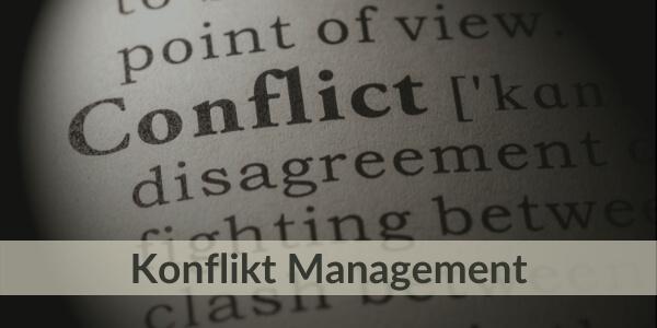 Training für Führungskräfte - Konflikt Management